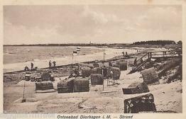 Dierhagen AK alt Strand Ostsee Mecklenburg-Vorpommern 1611291