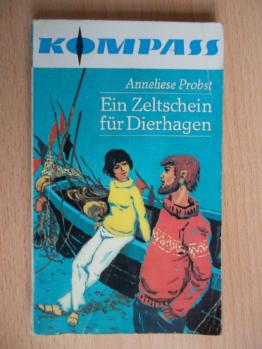 Probst,Anneliese.Ein Zeltschein für Dierhagen.KOMPASS 162.Jugendbuch DDR Ostsee