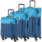 travelite NEOPAK 3 tlg. Trolley-Set Marine/Blau